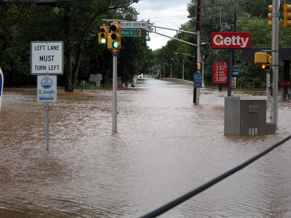 Irene flooding photo
