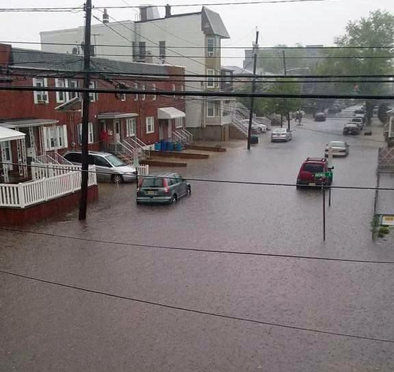 Flash Flooding On May 5th In Bayonne Hudson County Where Around 3 00 Of Rain Occurred Within A Three Hour Period Photo By Bridget Schumacher
