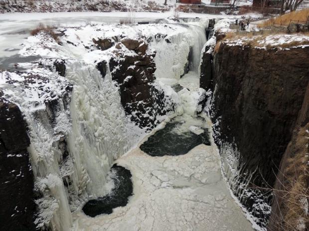 Great Falls frozen