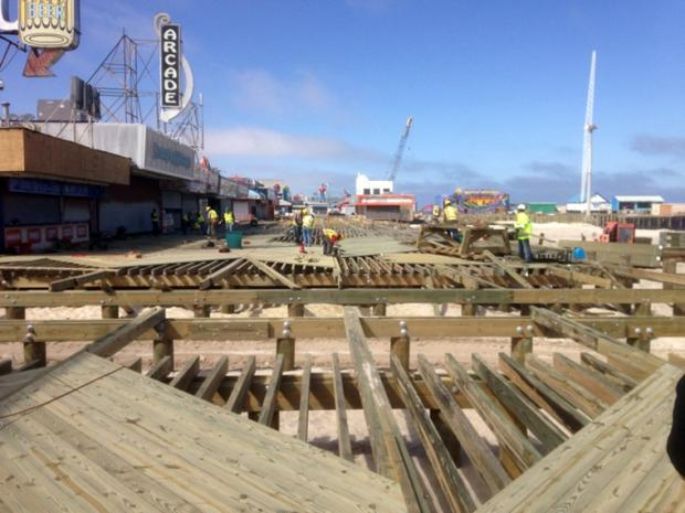 Seaside Heights boardwalk rebuild