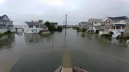 Coastal flood photo