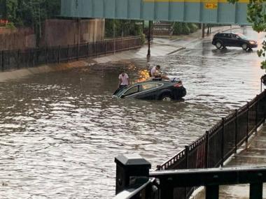 Flash flood photo