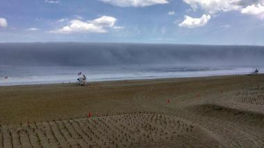 Sea fog photo