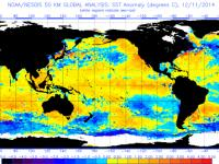 Global Sea Surface Temperature Anomalies