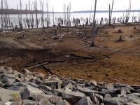 Dry reservoir photo