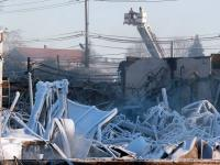 Marcal paper plan fire aftermath
