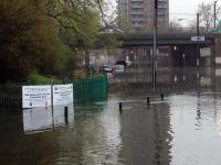 Flooding in Newark