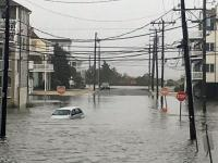 Coastal flood photo